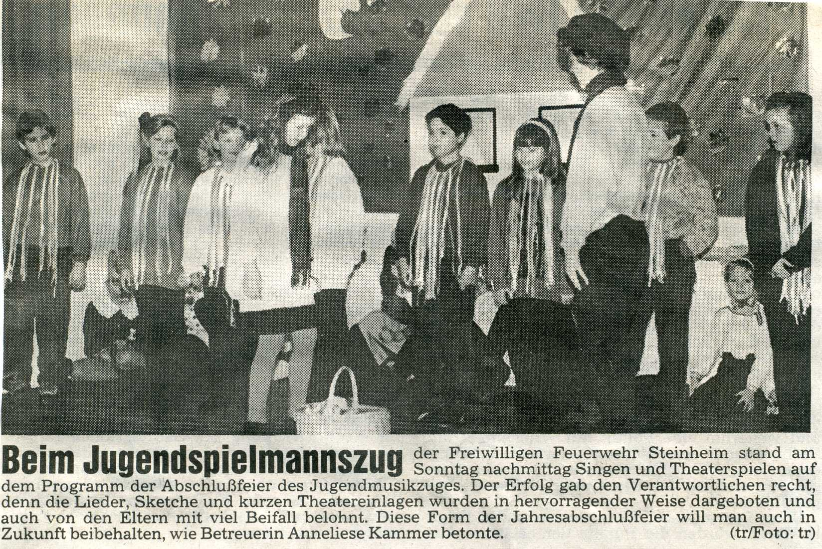 1992 Jugendtheatergruppe