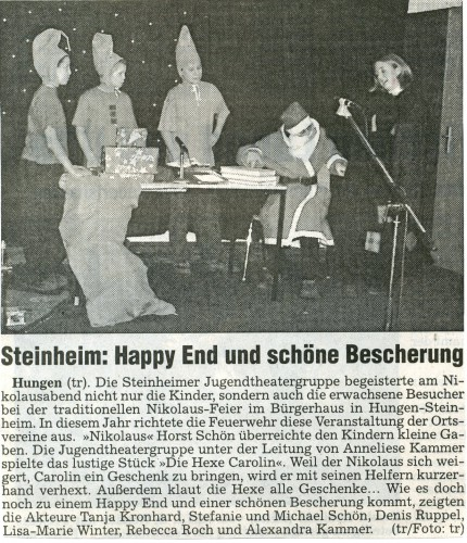 2000 Jugendtheatergruppe