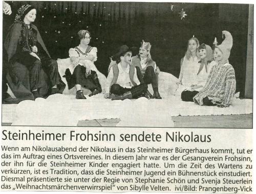2002 Jugendtheatergruppe