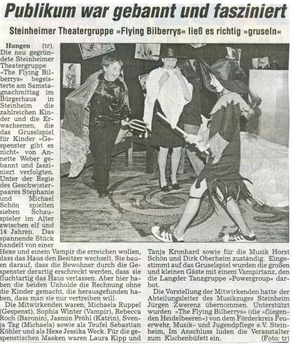 2003 Jugendtheatergruppe