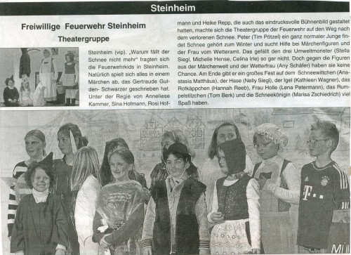 2014 Jugendtheatergruppe