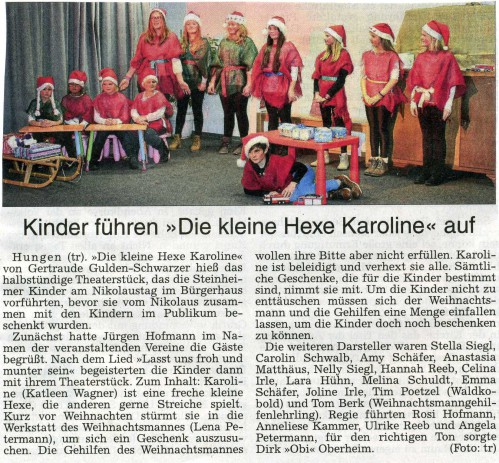 2015 Jugendtheatergruppe