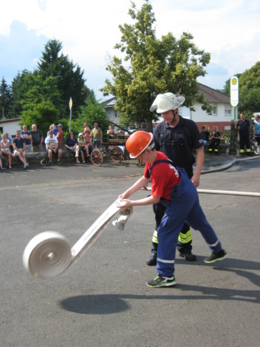 Schauübung Mini- & Jugendfeuerwehr